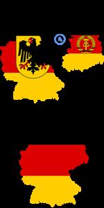 Федеративная Республика Германии, Западный Берлин и Германская Демократическая Республика//ru.wikipedia.org