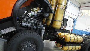 линейки отечественных газовых двигателей с воспламенением от сжатия инициирующего топлива для транспорта и энергетики