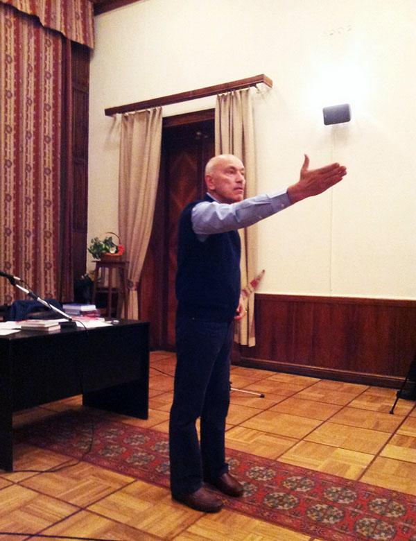 Нурали Латыпов в Центральном доме литераторов