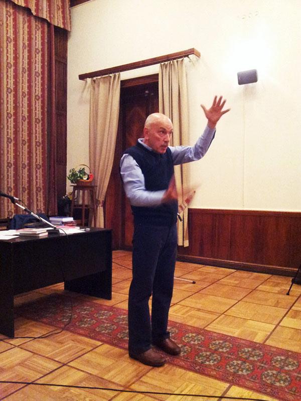 Нурали Латыпов в Центральном доме литераторов (ЦДЛ)