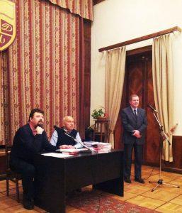 Дмитрий Гаврилов, Нурали Латыпов, Сергей Ёлкин в Центральном доме литераторов (ЦДЛ)