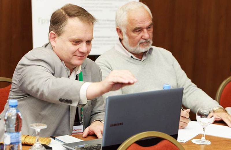 Юрий Шушкевич и Тахир Бибиков на Форуме «ПроПротеин» 27.09.2017