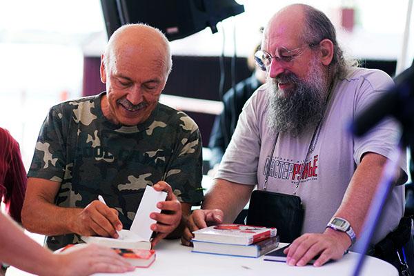 Наши консультанты, Знатоки и интеллектуалы Нурали Нурисламович ЛАТЫПОВ и Анатолий Александрович ВАССЕРМАН - 4