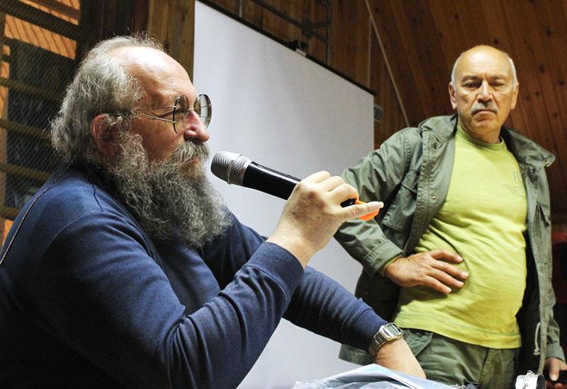 Наши консультанты, Знатоки и интеллектуалы Нурали Нурисламович ЛАТЫПОВ и Анатолий Александрович ВАССЕРМАН - 3