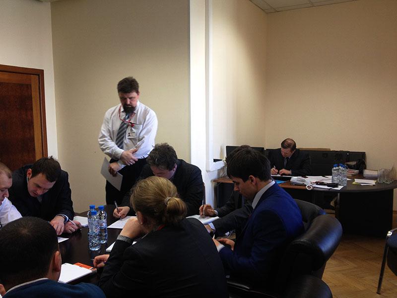 На семинаре с молодыми специалистами в ГО ЛИ - 1