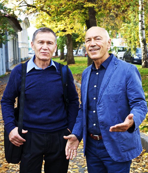 Нурахмед и Нурали Латыповы