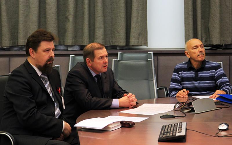 Д. Гаврилов, С. Ёлкин и Н. Латыпов