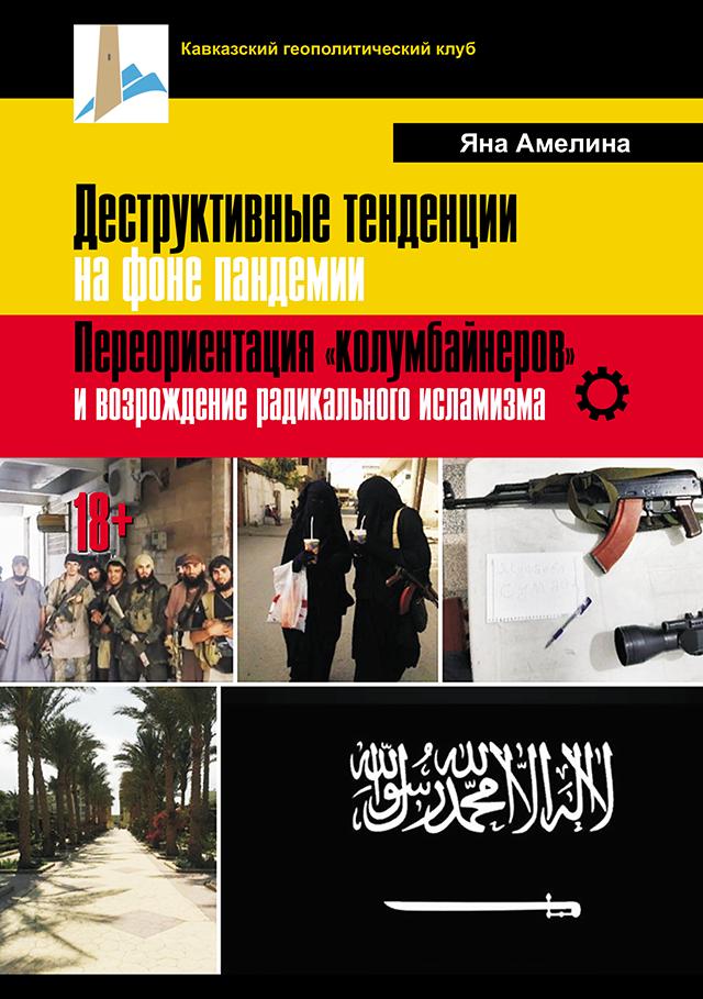 """КНИГА. Амелина Я.А.""""Деструктивные тенденции на фоне пандемии. Переориентация «колумбайнеров» и возрождение радикального исламизма (18+)"""""""