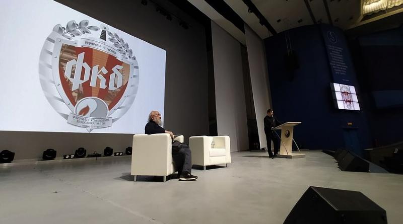 Анатолий Вассерман и Дмитрий Гаврилов на презентации в РГУ имени И.М. Губкина / Алена Куренова